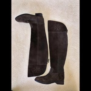 Tory Burch Over The Knee Boots | Barely Worn